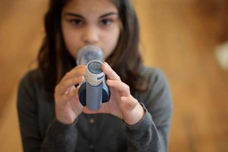 Geotagged Asthma Attacks - This Smart Inhaler Attachment Draws Big Data From Low Air Quality Areas