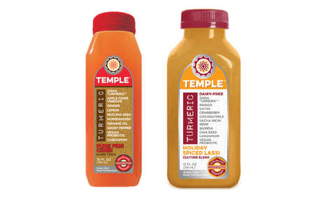 Seasonal Superfood Drinks - Turmeric Temple's Seasonal Drinks Encourage Health During the Holidays