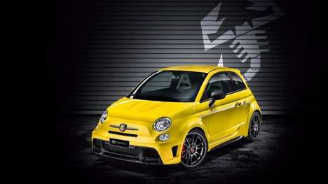 Commemorative Performance Cars - The Fiat Abarth 695 Biposto Celebrates a Historic Driving Record