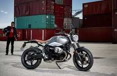 Retro Scrambler Motorcycles - The BMW R nine T Scrambler Has An Old-School Appearance