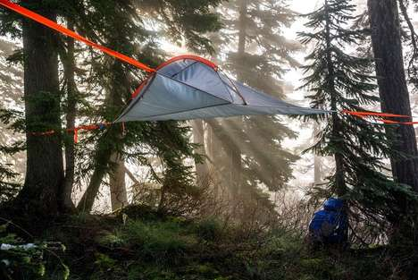 Raised Tree Tents - The Tentsile Flite Can Support Two Adults A Meter Above the Ground
