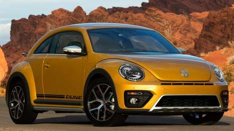 Ruggedly Cute Cars - The 2016 Volkswagen Beetle Dune Features a Strengthened Body
