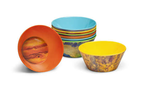 Planetary Dish Sets - These Cereal Bowls Creatively Capture the Essence of the Solar System