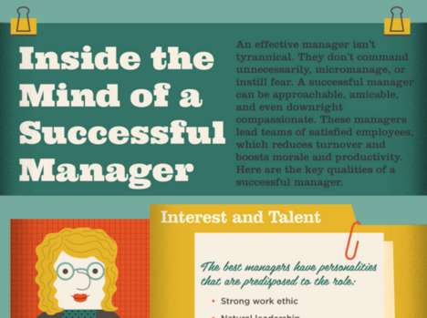 Inspirational Managerial Guides - This Infographic Lists the Traits That Make an Ideal Boss