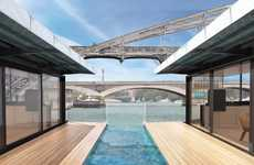 Eco-Friendly Floating Hotels - The OFF Paris Seine Hotel Will Be Built Using Recyclable Materials