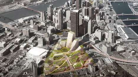 Reinventive Urban Projects - Pittsburgh's Lower Hill District Will Be Reshaped For Wider Urban Use