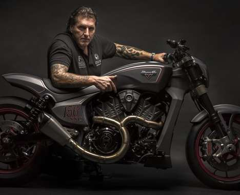 Aggressive Concept Motorbikes