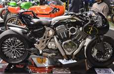 Balanced Italian Motorbikes - The Cafedecura Cafe Racer Strikes a Balance Between Power and Looks