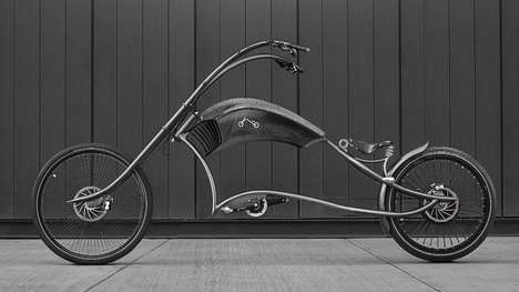 Chopper-Inspired E-Bikes - The Eyecatching Archont Electro Rides Like the Wind