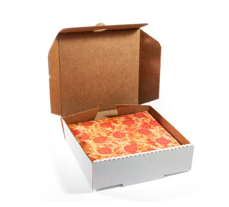 Novelty Pizza Wrapping Paper - The Gift Coutoure Provides Realistic Savory Pie Themed Decorations