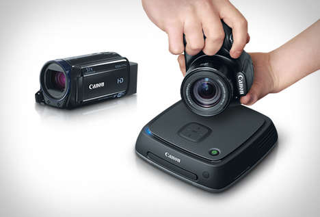 Wireless Photo Stations - The Cannon Connect Station CS100 Acts as a Hub For Photos and Video