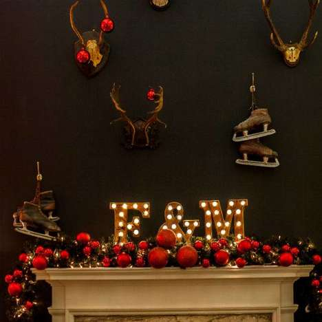 Holiday Pop-Up Lodges - Fortnum & Mason Will Host Workshops at Somerset House