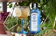 This Bombay Sapphire Gin Workshop Features Custom Cocktails