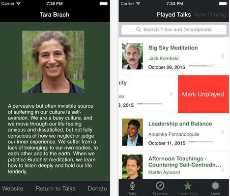 Accessible Mindfulness Apps - Dharma Seed Offers Guidance from Meditation Experts