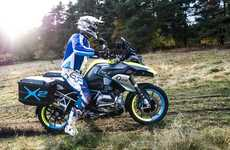 Electric Wheel Motorbikes - This BMW Motorbike Has An Electric Hub Motor In Its Front Wheel