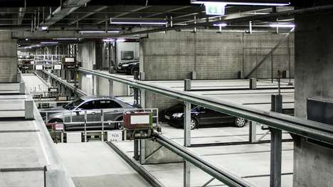Robot-Operated Parking Lots - Dokk1's Automated Car Park System Reduces Driver Hassle