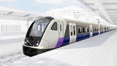 Ultra-Long Trains - The UK's Crossrail Trains are 200 Meters Long And Can Hold 1,500 Passengers