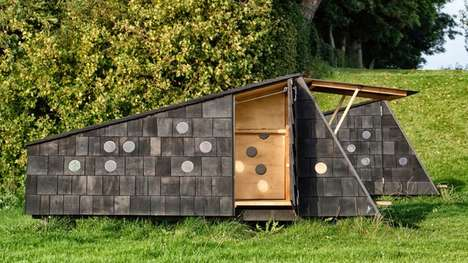 Charming Country Cabins - The 'Shelters By The Sea' Cabins Offer Safety From the Elements