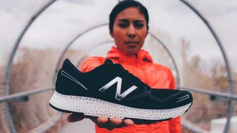 3D-Printed Sneakers - New Balance's 3D-Printed Sneakers Add More Cushioning To Your Step