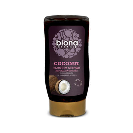 Plant-Based Sweeteners - Biona Organic Coconut Nectar is Suitable for Vegans and is Low in Calories