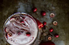 Festive Cranberry Cocktails - This Recipe Offers a Festive Take on the Classic Moscow Mule