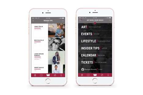 Art Exhibition Apps - The Whitewall Magazine App Takes Users Through Art Basel in Miami