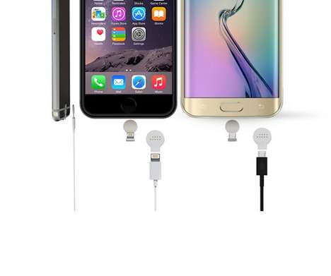 Wireless-Style Chargers - The Geck is a Magnetic Charging Device That Upgrades Existing Technology