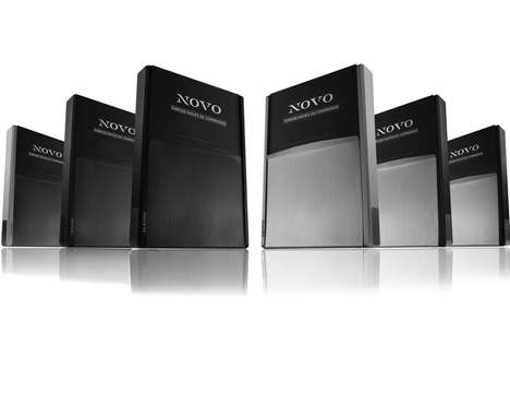 Machine-Formed Wallets - The Novo Design Luxury Wallet is Crafted from Metal for Strength and Style