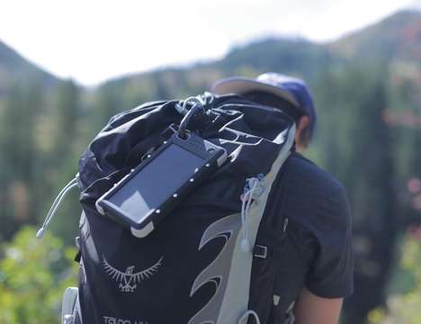 Emergency Wilderness Chargers - The 'SOS 20K' Portable Solar Power Bank is Ready for an Adventure