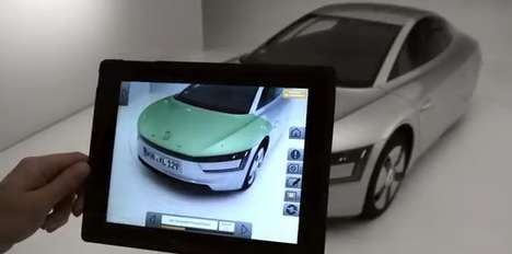 AR Vehicle Design Apps - The Volkswagen Design Team Uses Mobile AR Technology