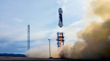 Commercial Reusable Rockets - The New Shepard Space Vehicle Uses 110,000 Pounds of Thrust