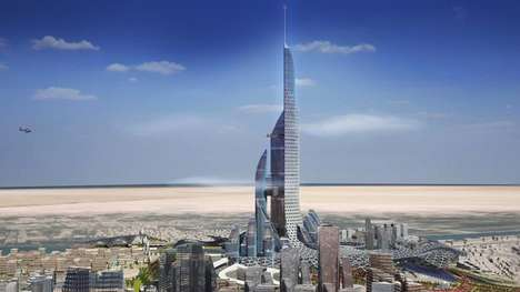 Record-Breaking Iraqi Skyscrapers - 'The Bride' Will Be Located In the Iraqi City of Basra