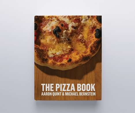 Pizza-Themed Cookbooks - This Cookbook Contains a Variety of Recipes for Homemade Pizza