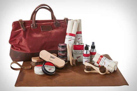 Sophisticated Shoe Care Kits - The Red Wing Heritage Master Care Kit Keeps Shoes Looking Supple
