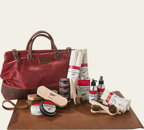 Luxurious Boot Care Kits - This Kit Includes Everything Needed to Preserve High-quality Boots