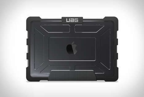 Heavily Armored Computer Cases - The Urban Armor Gear MacBook Case Has 360-Degrees of Protection