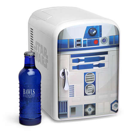 Temperature-Adjusting Droid Fridges - This R2-D2 Mini Fridge Design Can be Set to Warm or Cold