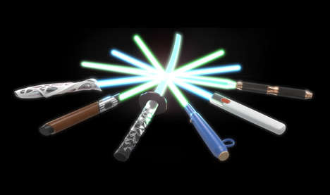 Sci-Fi Weapon Makeovers - The Design x Saber Project Gives the Star Wars Lightsaber a New Look