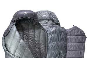 The Kammok Thylacine Sleeping Bag Design Features Multiple Layers