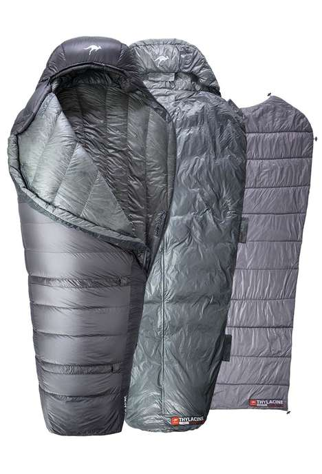 Modular Sleeping Bags - The Kammok Thylacine Sleeping Bag Design Features Multiple Layers