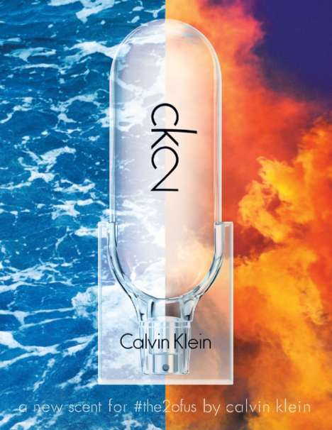 Gender-Neutral Fashion Perfumes - The New CK2 Calvin Klein Fragrance is Designed for Men and Women