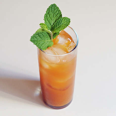Pumpkin Mojito Cocktails - This Autumnal Mixed Drink Offers a Spin on a Classic Mint Beverage