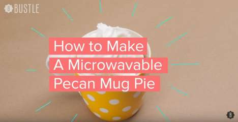 Microwavable Mug Pies - This Tutorial Explains How to Make Pecan Pie in the Microwave
