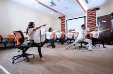 Office Yoga Programs - The 'Workplace Yogi' Guides Employees Through Sessions of Yoga at Work
