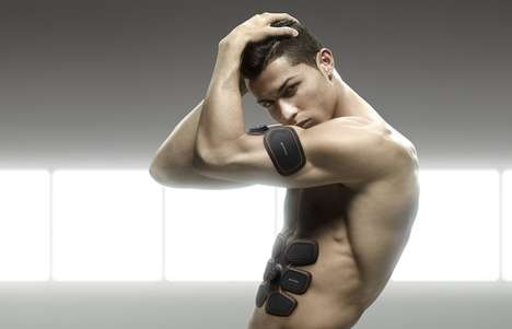 Automated Muscle Stimulators - The Training Gear 'SIXPAD' is Endorsed by Christiano Ronaldo