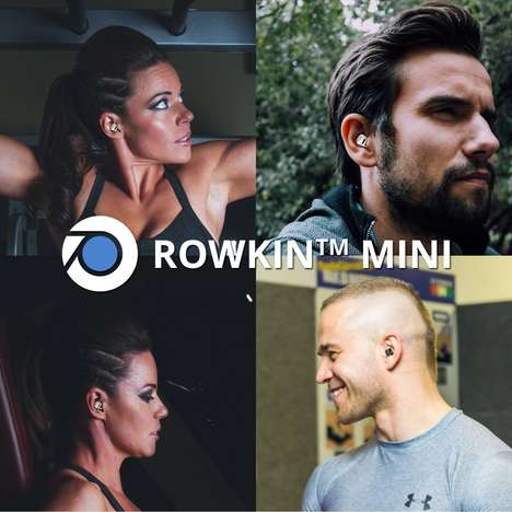 Smart Wireless Headphones - The Rowkin Mini Sport Earbuds are the Smallest in Existence