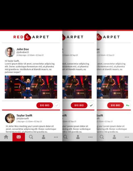 Philanthropic Celeb-Contacting Apps - The Red Carpet App Lets Fans Connect With Celebrities