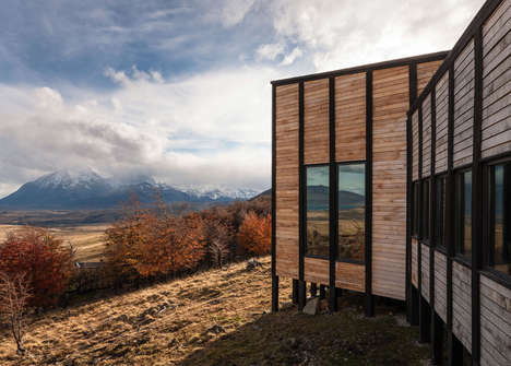 Elevated Timber Cabins - These Hillside Cabins Provide Individual Lodgings for the Awasi Hotel