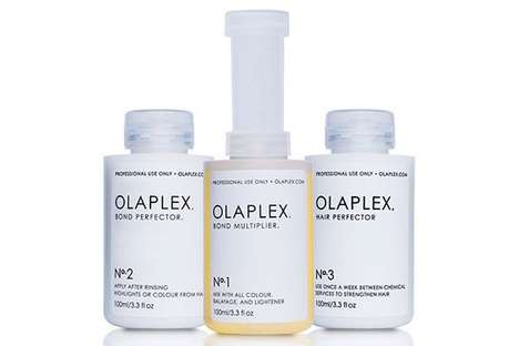 Hair-Rebuilding Products - Olaplex is a Three-Step Reparative Hair Care System
