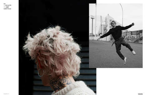 Gritty Street Youth Editorials - The Ones 2 Watch 'Under Pressure' Series Boasts Urban Imagery